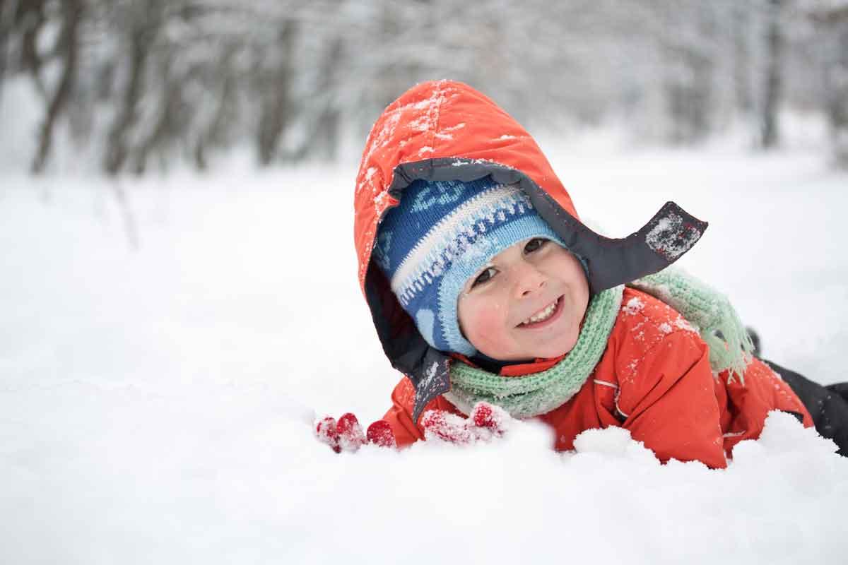 Attività all'aria aperta invernali