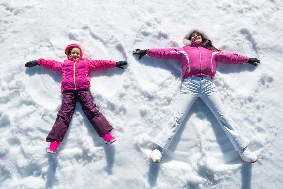 Attività nella neve