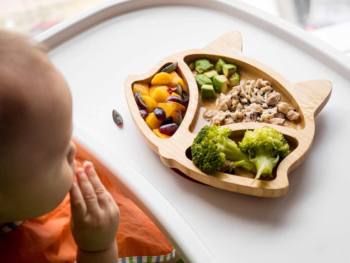 Educazione alimentare svezzamento