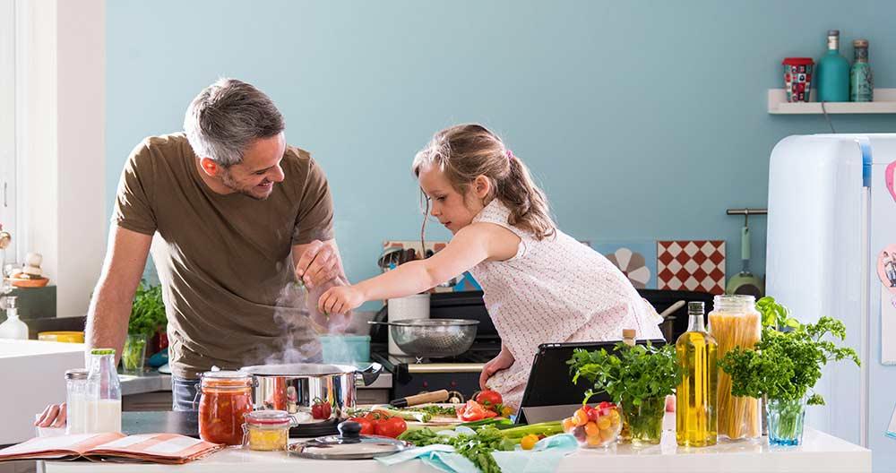 Educazione alimentare in famiglia