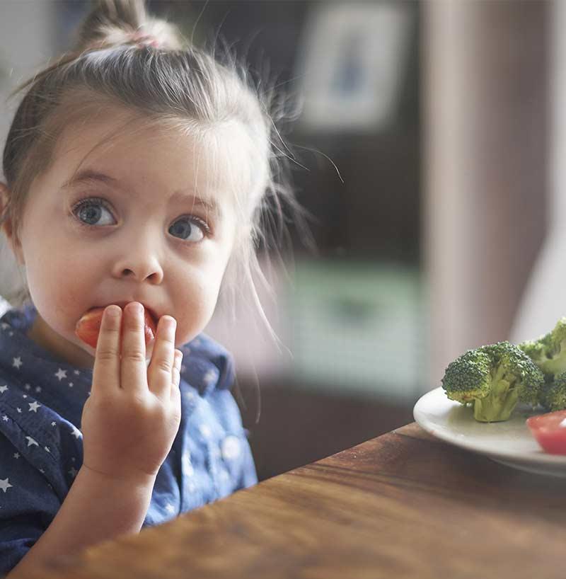 Alimentazione biologica bambini