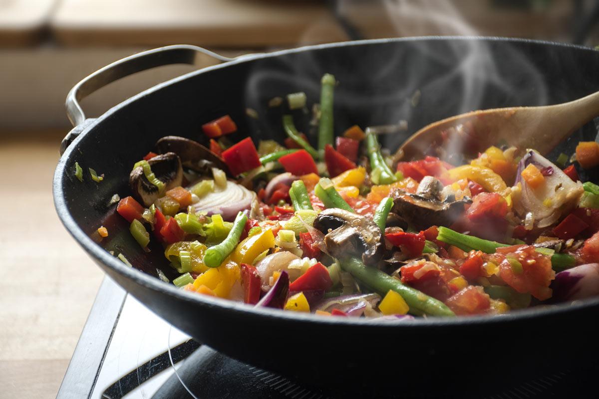 Come cuocere le verdure bio
