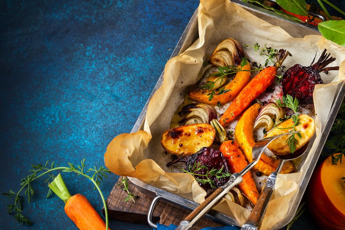 Cottura verdure autunnali