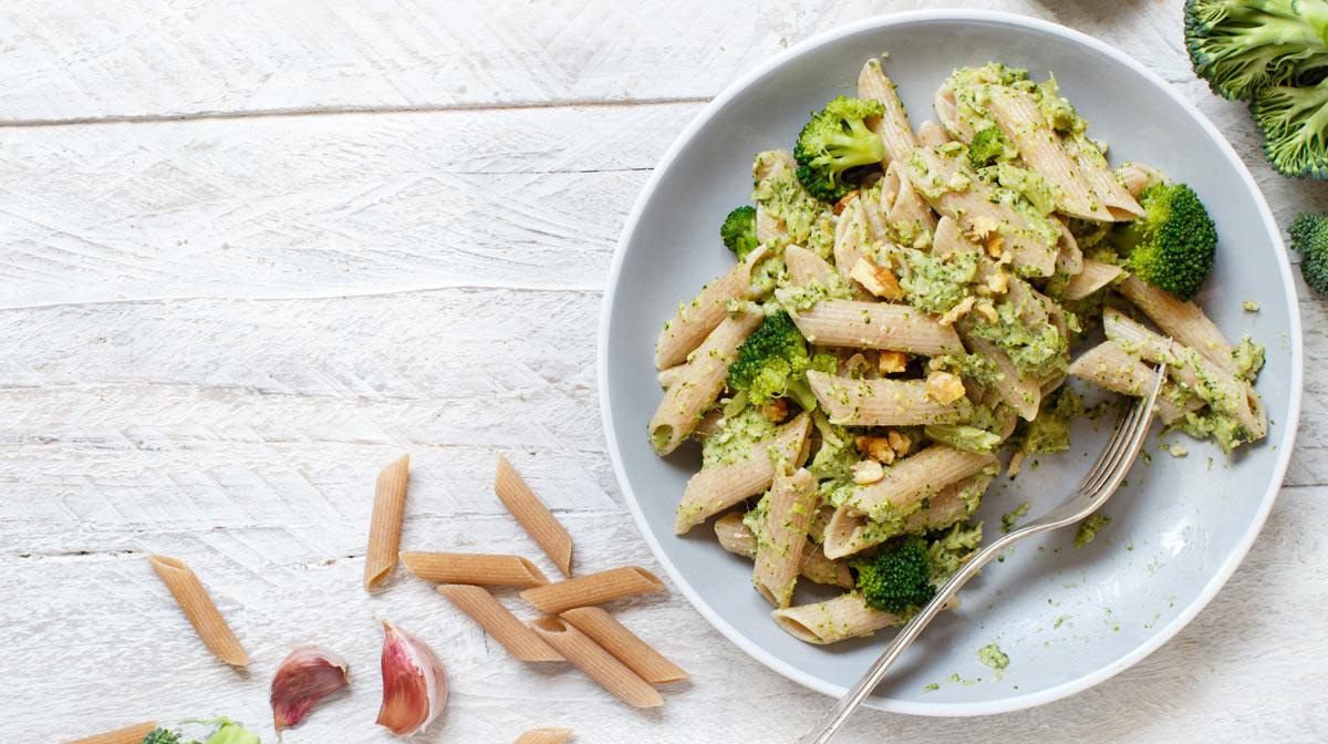 Pasta con broccoletti bio