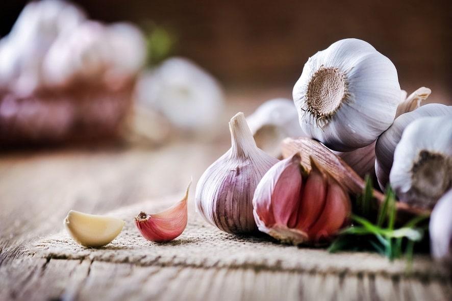 pesticidi naturali - aglio