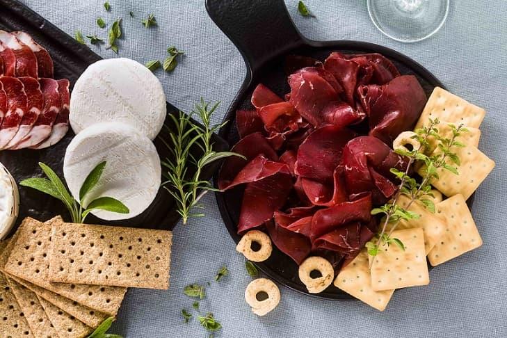 Gite in Italia bresaola
